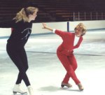 Ann Margreth-Frei ice skating coach
