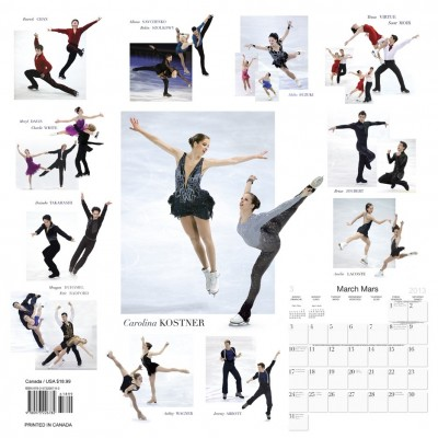 The Figure Skating Calendar from Ice Skating World